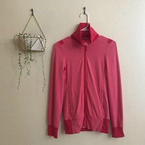 Lululemon Pink Floral Raja Reversible Jacket
